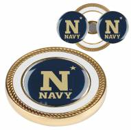 Navy Midshipmen Challenge Coin with 2 Ball Markers