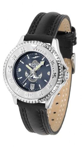 Navy Midshipmen Competitor AnoChrome Women's Watch