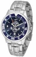 Navy Midshipmen Competitor Steel AnoChrome Color Bezel Men's Watch