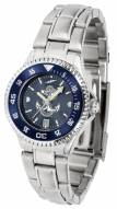 Navy Midshipmen Competitor Steel AnoChrome Women's Watch - Color Bezel