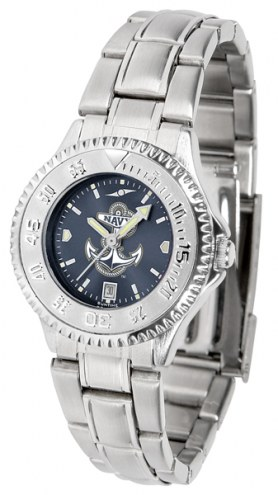 Navy Midshipmen Competitor Steel AnoChrome Women's Watch
