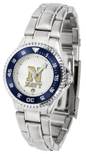 Navy Midshipmen Competitor Steel Women's Watch