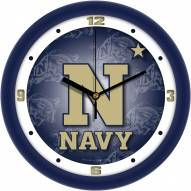 Navy Midshipmen Dimension Wall Clock