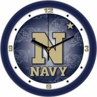 Navy Midshipmen Dimension Wall Clock