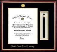 Navy Midshipmen Diploma Frame & Tassel Box