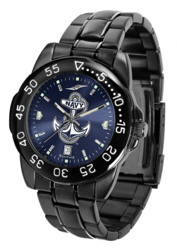 Navy Midshipmen Fantom Sport AnoChrome Men's Watch