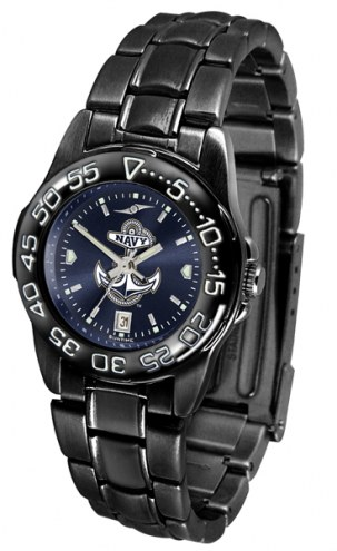 Navy Midshipmen Fantom Sport AnoChrome Women's Watch