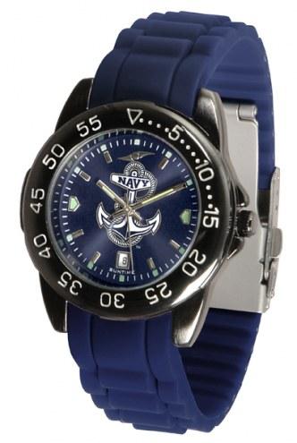 Navy Midshipmen FantomSport AC AnoChrome Men's Watch