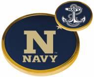 Navy Midshipmen Flip Coin