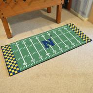 Navy Midshipmen Football Field Runner Rug