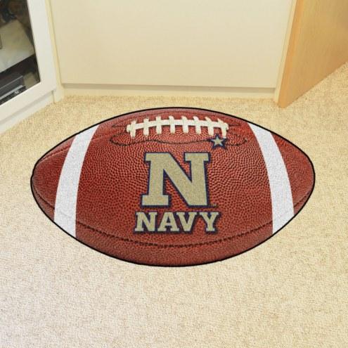 Navy Midshipmen Football Floor Mat