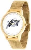 Navy Midshipmen Gold Mesh Statement Watch