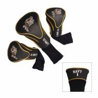 Navy Midshipmen Golf Headcovers - 3 Pack