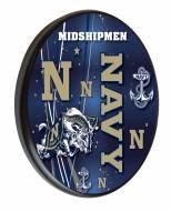 Navy Midshipmen Digitally Printed Wood Sign