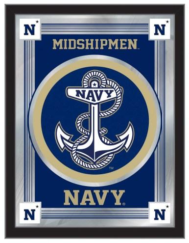 Navy Midshipmen Logo Mirror