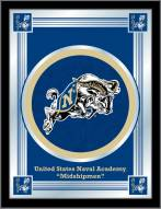 Navy Midshipmen Logo Mirror