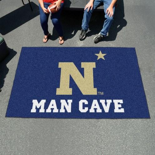 Navy Midshipmen Man Cave Ulti-Mat Rug