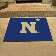 """Navy Midshipmen """"N"""" All-Star Mat"""