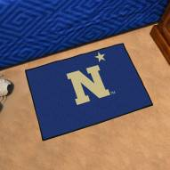 """Navy Midshipmen """"N"""" Starter Rug"""