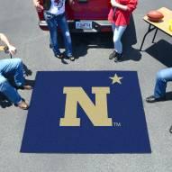 """Navy Midshipmen """"N"""" Tailgate Mat"""