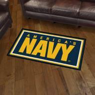 Navy Midshipmen 3' x 5' Area Rug