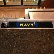 Navy Midshipmen Bar Mat