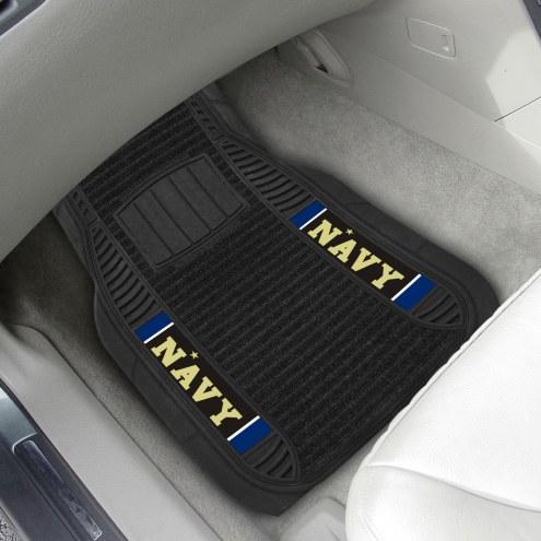 Navy Midshipmen Deluxe Car Floor Mat Set
