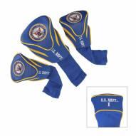 Navy Midshipmen Golf Headcovers - 3 Pack
