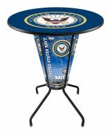 Navy Midshipmen Indoor/Outdoor Lighted Pub Table
