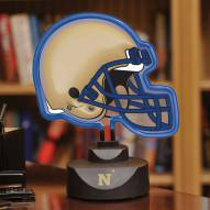 Navy Midshipmen Neon Helmet Desk Lamp