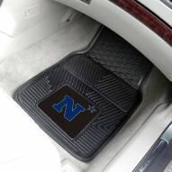 Navy Midshipmen Vinyl 2-Piece Car Floor Mats