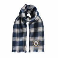Navy Midshipmen Plaid Blanket Scarf