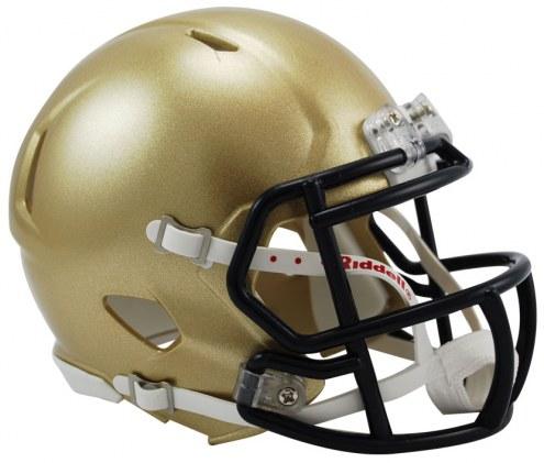 Navy Midshipmen Riddell Speed Mini Collectible Football Helmet