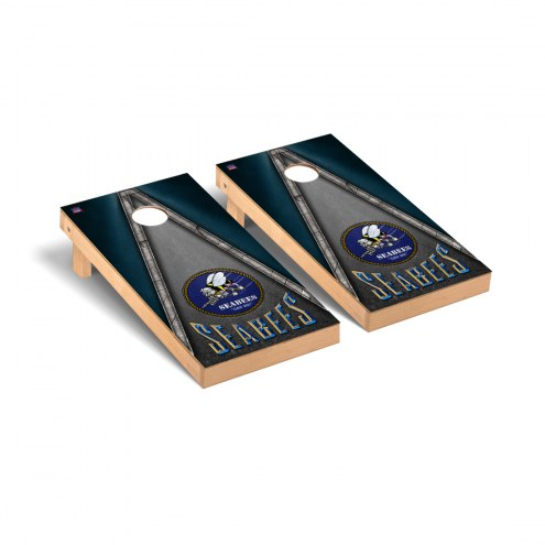 Navy Midshipmen Seabees Cornhole Game Set
