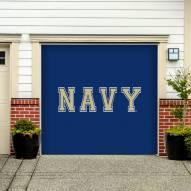 Navy Midshipmen Single Garage Door Banner