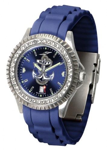Navy Midshipmen Sparkle Women's Watch