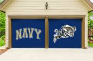 Navy Midshipmen Split Garage Door Banner