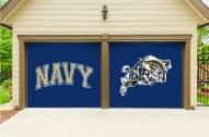 Navy Midshipmen Split Garage Door Banner