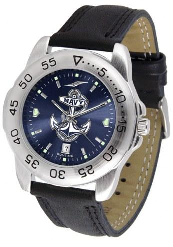Navy Midshipmen Sport AnoChrome Men's Watch