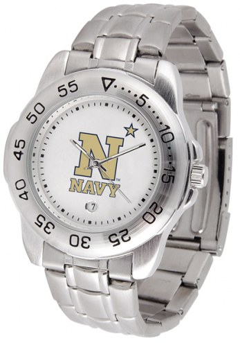 Navy Midshipmen Sport Steel Men's Watch
