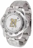 Navy Midshipmen Sport Steel Men's Watch