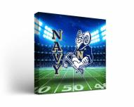 Navy Midshipmen Stadium Canvas Wall Art