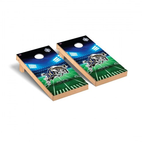 Navy Midshipmen Stadium Cornhole Game Set