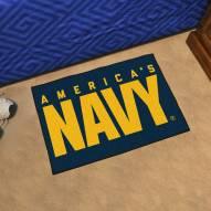 Navy Midshipmen Starter Rug