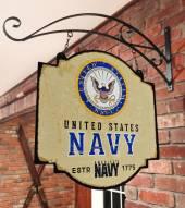 Navy Midshipmen Tavern Sign
