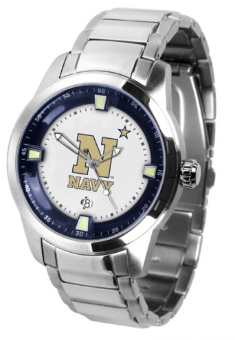 Navy Midshipmen Titan Steel Men's Watch