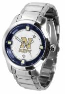 Navy Midshipmen Titan Steel Men's Watch