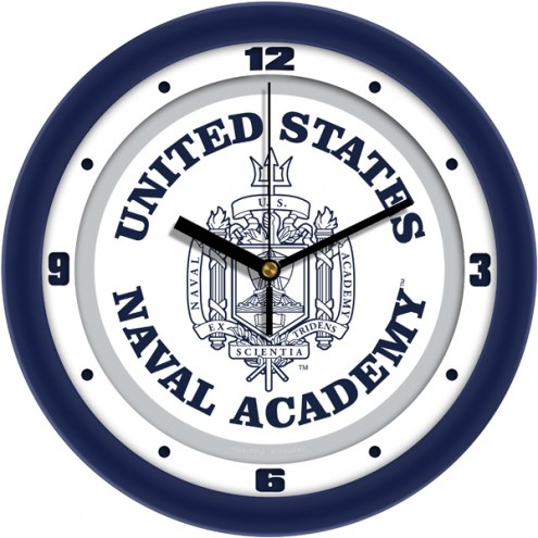 Navy Midshipmen Traditional Wall Clock