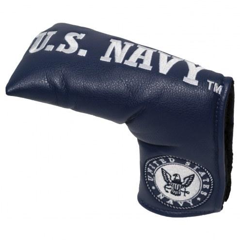 Navy Midshipmen Vintage Golf Blade Putter Cover