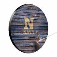 Navy Midshipmen Weathered Design Hook & Ring Game